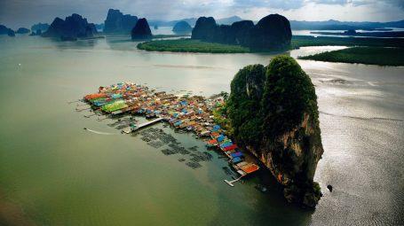 Image result for thailand floating village